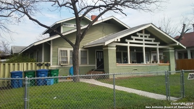 San Antonio Multi Family Home Back on Market: 201 Mount Vernon Ct