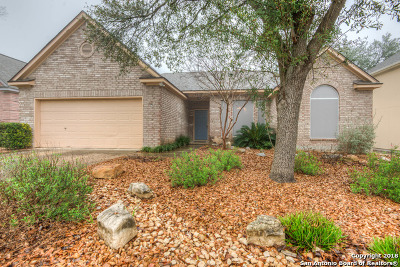 San Antonio Single Family Home Back on Market: 13550 Chappel View