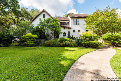 Alamo Heights TX Single Family Home Back on Market: $1,099,000