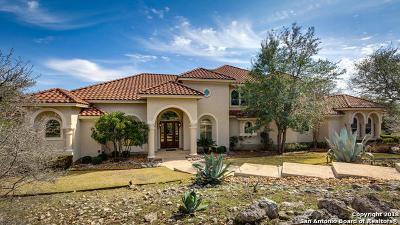 Boerne Single Family Home For Sale: 105 Pebble Creek