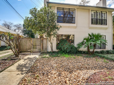 Alamo Heights Single Family Home Active Option: 132 Montclair St