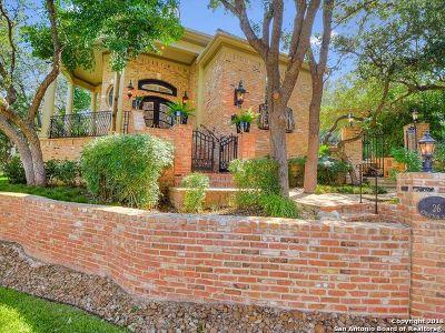 San Antonio TX Single Family Home For Sale: $1,350,000