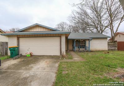 Converse Single Family Home Back on Market: 9807 Flatland Trail