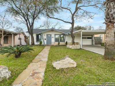 San Antonio Single Family Home Back on Market: 1606 Arroya Vista Dr