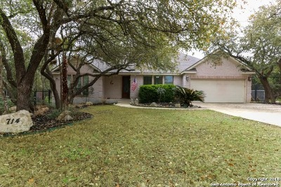 Timberwood Park Single Family Home For Sale: 714 Silent Hollow