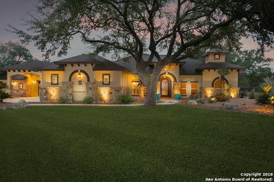 Pipe Creek Single Family Home Price Change: 354 Rio Azul