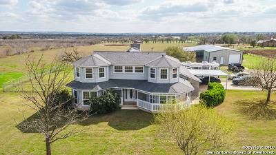 Single Family Home For Sale: 15010 Saint Hedwig Rd