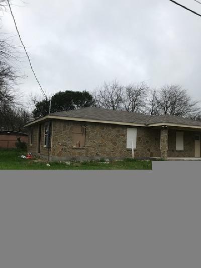 San Antonio Single Family Home Back on Market: 1612 Hidalgo