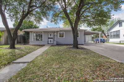 San Antonio Single Family Home Back on Market: 542 Tulane Dr