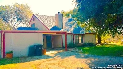 Seguin Single Family Home New: 625 Muehl Rd