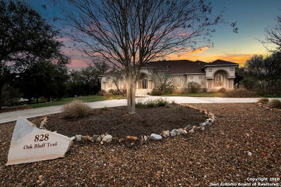 Comal County Single Family Home Back on Market: 828 Oak Bluff Trail