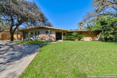 San Antonio Single Family Home New: 2627 Friar Tuck Rd