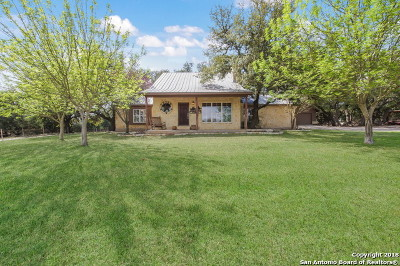 Boerne Single Family Home For Sale: 11 Kreutzberg Rd