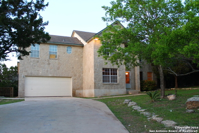 Bandera County Single Family Home Price Change: 1420 Lakepark Dr