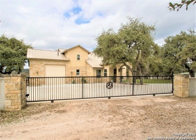Bandera County Single Family Home New: 256 Kruse Loop