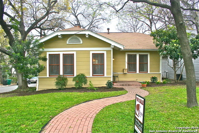 Alamo Heights Single Family Home For Sale: 137 Alta Ave
