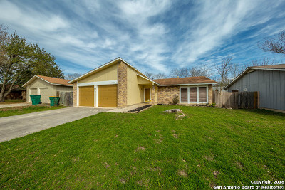 Converse Single Family Home New: 10220 Flatland Trail