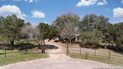 New Braunfels Single Family Home New: 1190 Pathfinder