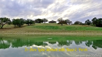 Bandera County Single Family Home New: 1199 Upper Mason Creek Rd