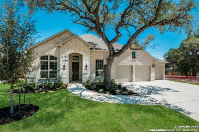 Boerne Single Family Home Back on Market: 28826 Porch Swing