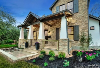 Alamo Heights Single Family Home New: 228 Cloverleaf Ave