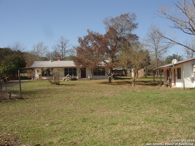 Bandera Single Family Home For Sale: 295 Chipman Lane