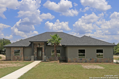 Bandera Single Family Home Price Change: 117 North Star