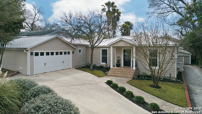 San Antonio Single Family Home New: 118 E Sunset Rd