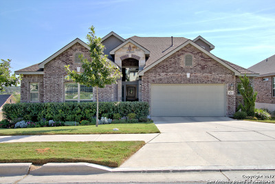Comal County Single Family Home New: 1217 Creek Canyon