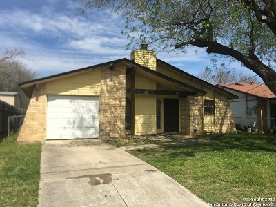 San Antonio Single Family Home Back on Market: 231 Arrid Rd
