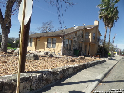 Bexar County Multi Family Home New: 503 Verne St.