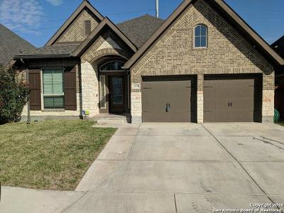 Seguin Single Family Home New: 2130 Pioneer Pass