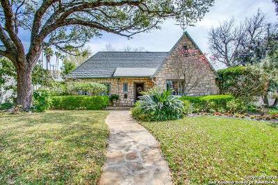 San Antonio Single Family Home New: 112 E Lullwood Ave