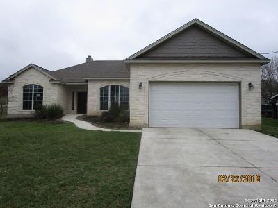 Medina County Single Family Home New: 1411 Gentilz St