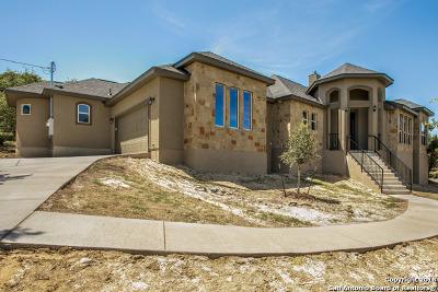 Canyon Lake Single Family Home New: 2571 Comal Springs