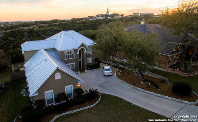 Stone Oak Single Family Home New: 606 Mesa Ridge