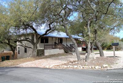 Canyon Lake Single Family Home New: 221 Poolside Dr