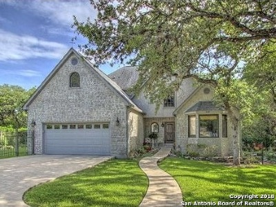 Comal County Single Family Home New: 640 Bluffside Dr