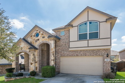 Cibolo Single Family Home New: 265 Fritz Way
