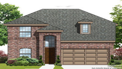 Seguin Single Family Home New: 1540 Birmingham Dr