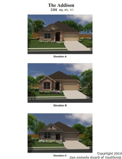 Schertz Single Family Home New: 4492 Winged Elm