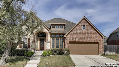 Comal County Single Family Home New: 592 Oak Cascade