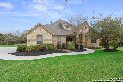 Boerne Single Family Home New: 25702 Clyde Rock