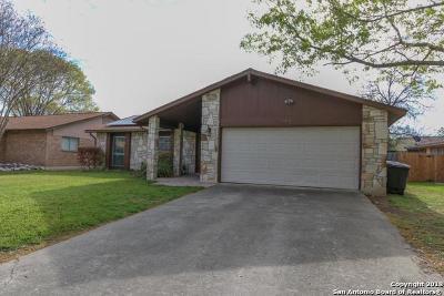 San Antonio Single Family Home Back on Market: 8318 Bluff Bend Dr