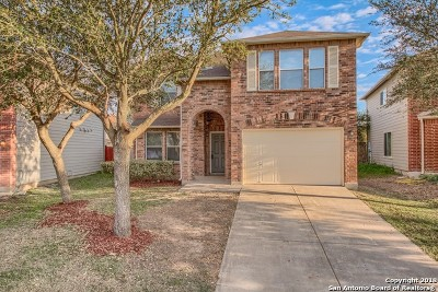 Converse Single Family Home New: 8875 Staghorn Mill
