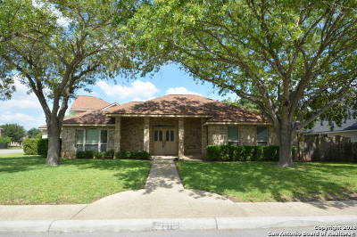 Helotes Single Family Home New: 12818 Aqua Valley