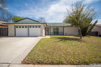 Converse Single Family Home New: 10326 Windburn Trail