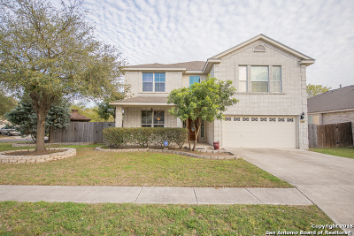 Helotes Single Family Home New: 8402 Feather Trail