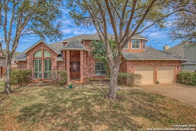 San Antonio Single Family Home Price Change: 1618 Wood Quail