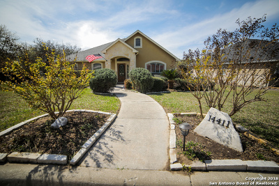 Helotes Single Family Home New: 14411 Windy Creek